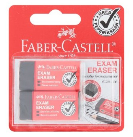 Pemadam Faber Castell 2 Pcs
