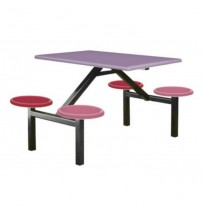 Meja+Kerusi Makan 4 Orang